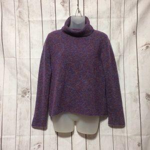 Eileen Fisher Italian Yarn Turtleneck Sweater M